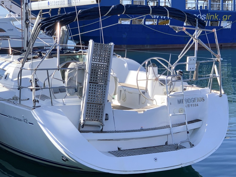 Location bateau Keramoti pas cher Sun Odyssey 42 i