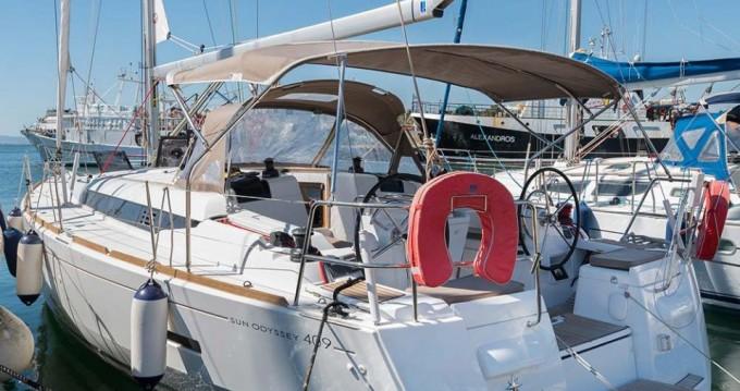 Location yacht à Skiathos - Jeanneau Sun Odyssey 409 sur SamBoat
