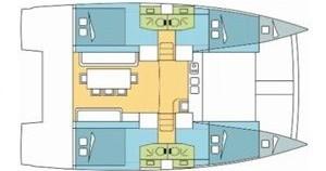 Location bateau Skiathos pas cher Bali 4.0