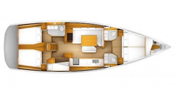 Location bateau Skiathos pas cher Sun Odyssey 49i