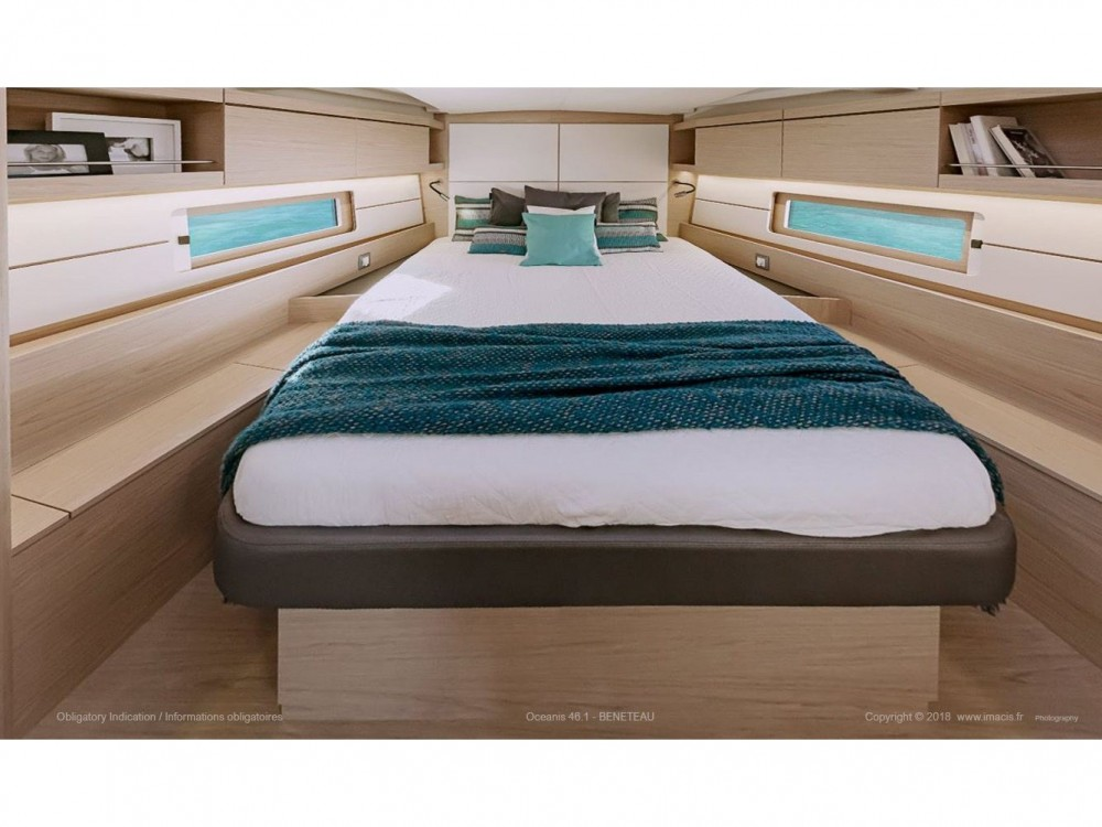 Location bateau Ibiza Magna pas cher Oceanis 461
