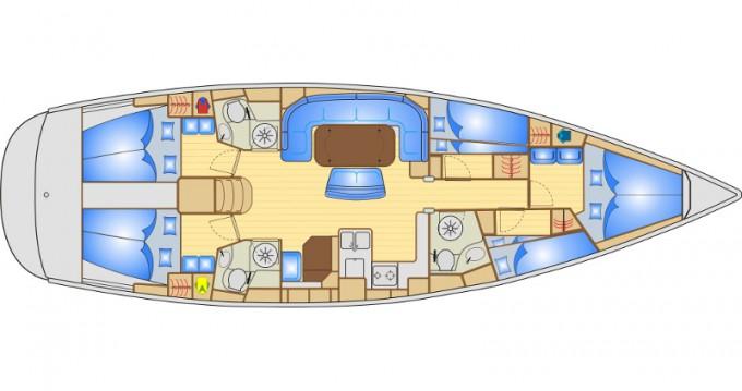 Location bateau Ibiza (Ville) pas cher Bavaria 50