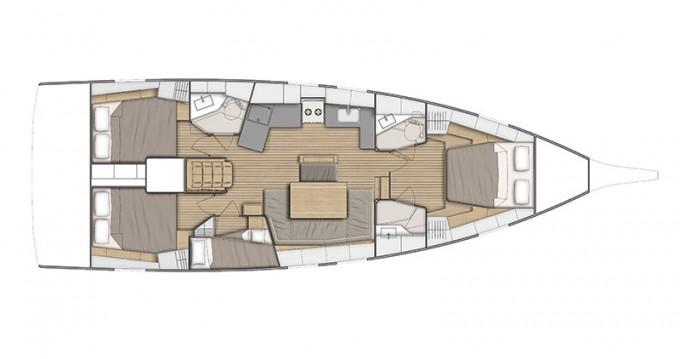 Location bateau Bénéteau Oceanis 46.1 à Ibiza (Ville) sur Samboat