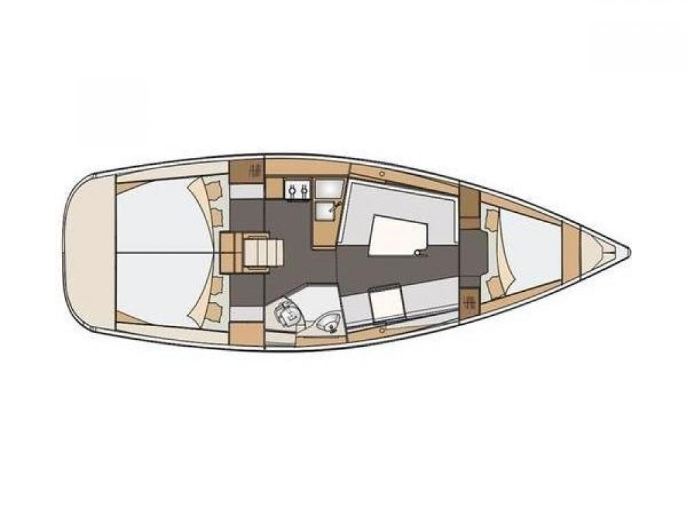 Location yacht à Grad Zadar - Elan Elan 35 Impression sur SamBoat