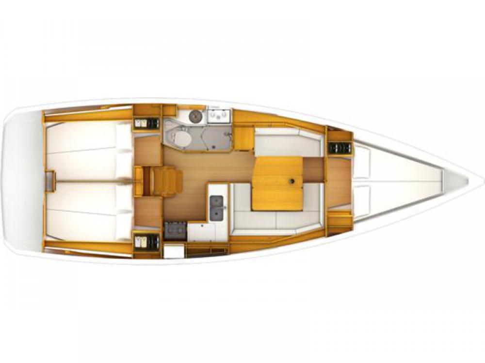 Location bateau Jeanneau JEANNEAU SO 389 à Sant Antoni de Portmany sur Samboat