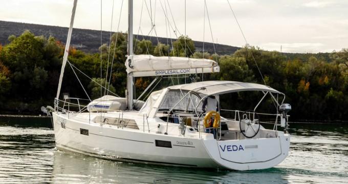 Location bateau Tivat pas cher Oceanis 41.1