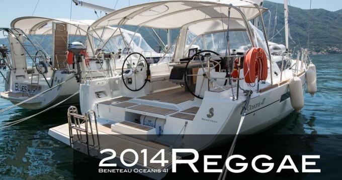 Location yacht à Tivat - Bénéteau Oceanis 41 sur SamBoat