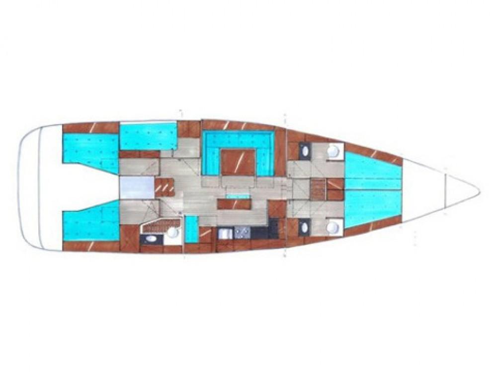 Location bateau Marina di Portisco pas cher Bavaria Cruiser 50