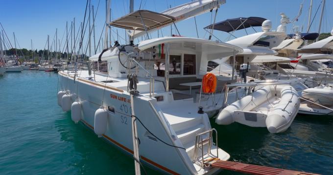 Location bateau Lagoon Lagoon 400 S2 à Split sur Samboat