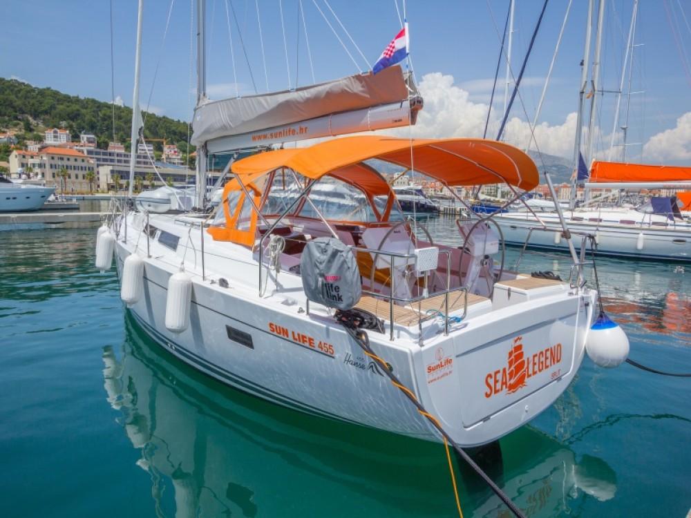Louer Voilier avec ou sans skipper Hanse à Split
