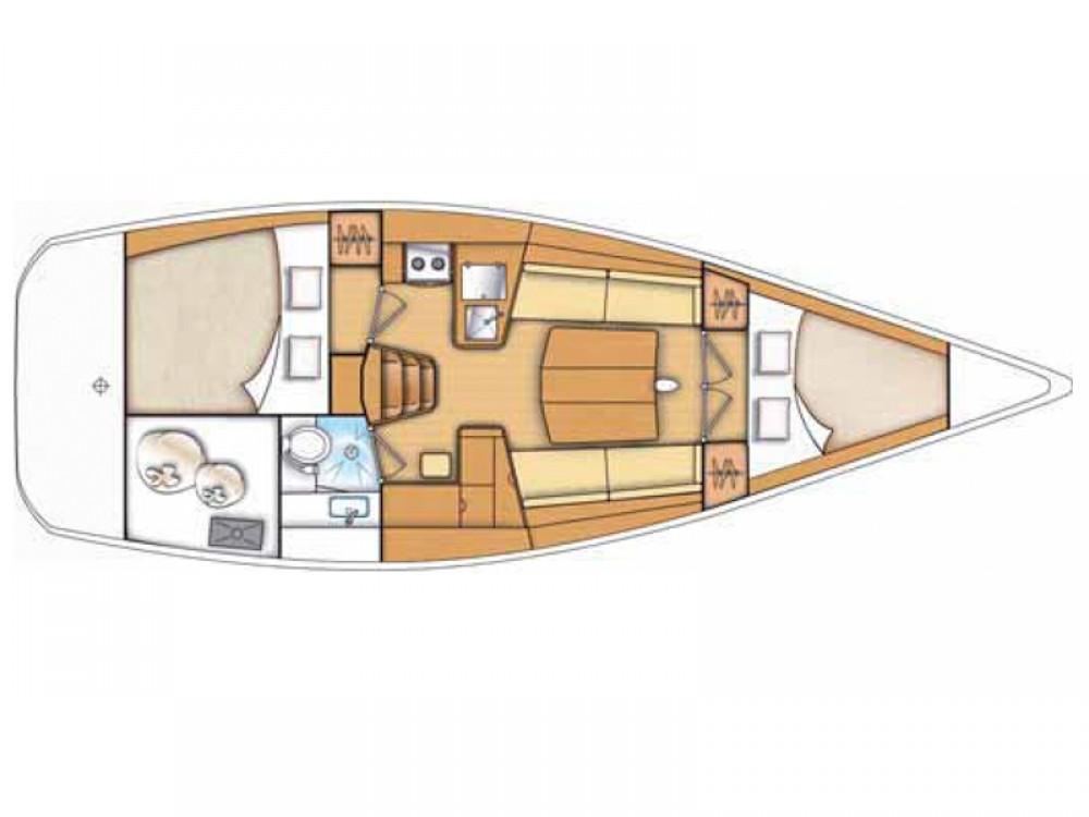 Louer Voilier avec ou sans skipper Bénéteau à Marina di Portisco