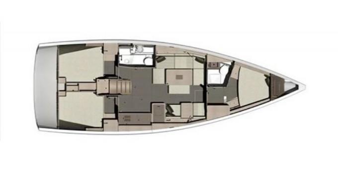 Louez un Dufour Dufour 412 Grand Large à Marina di Portisco