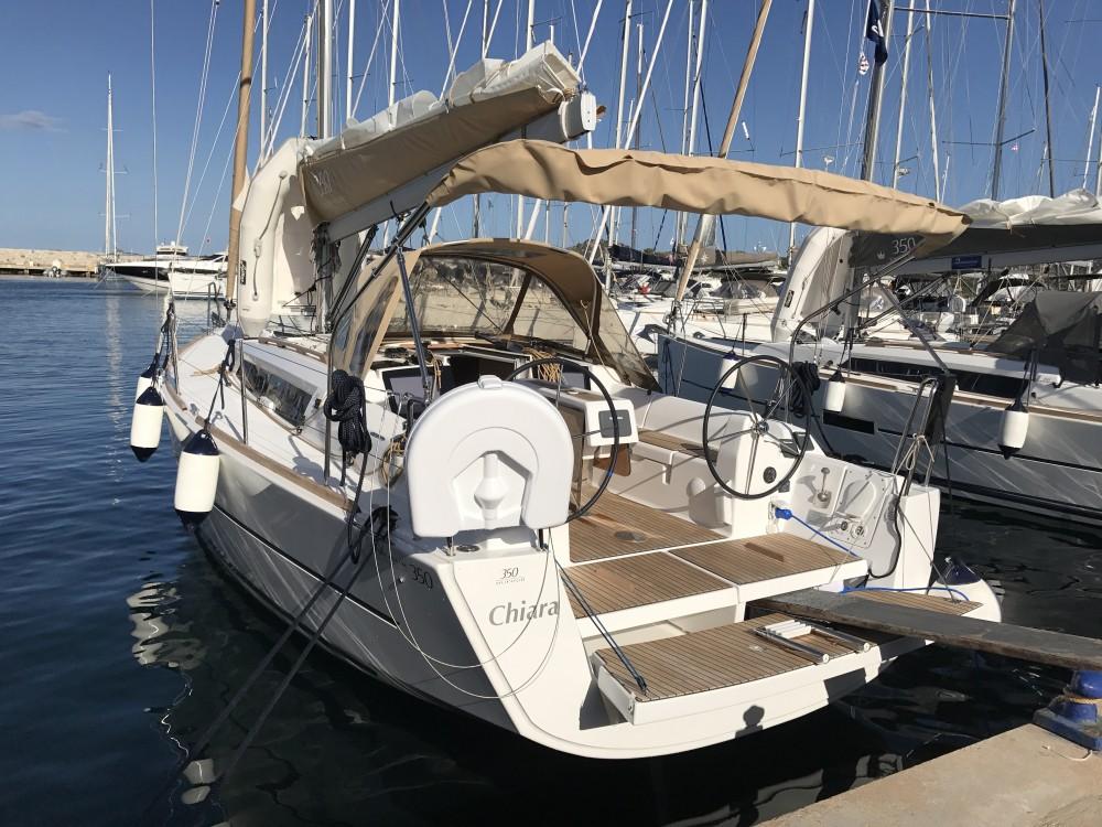 Location yacht à Marina di Portisco - Dufour Dufour 350 GL sur SamBoat