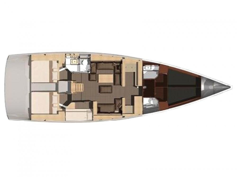 Location bateau Dufour Dufour 512 Grand Large à Marina di Portisco sur Samboat