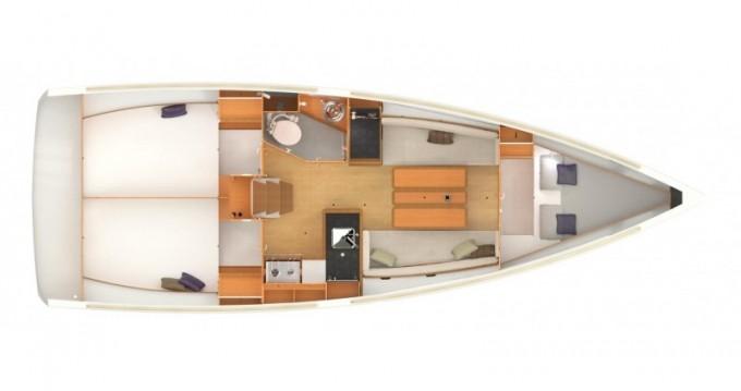 Location bateau Jeanneau Sun Odyssey 349 à Sukošan sur Samboat