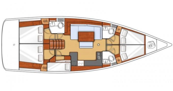 Location bateau Salamína pas cher Oceanis 48