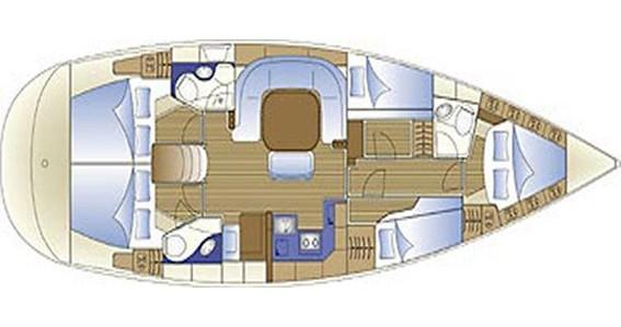 Location bateau Salamína pas cher Bavaria 49