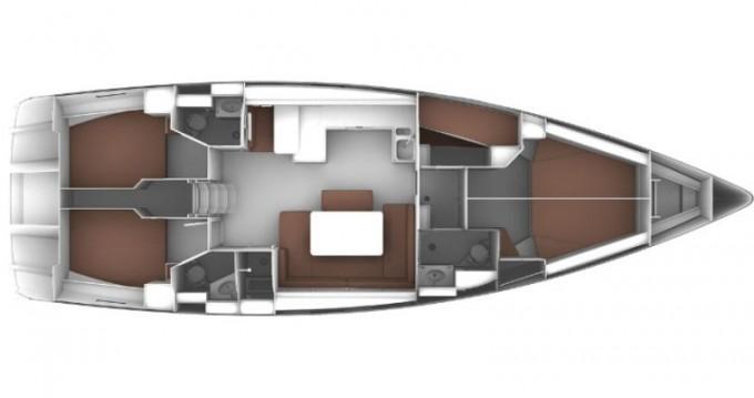 Bavaria Cruiser 51 entre particuliers et professionnel à Salamína