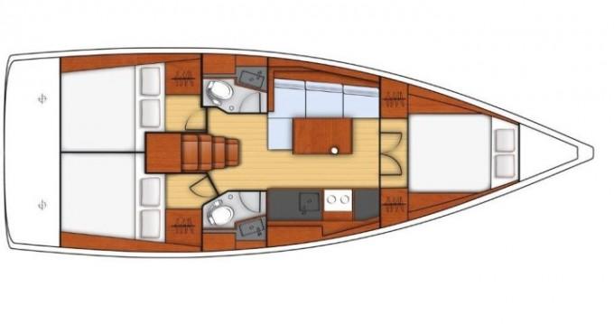 Louez un Bénéteau Oceanis 38.1 à Port de Lefkada
