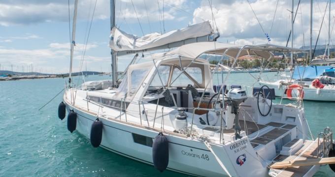 Location bateau Port de Lefkada pas cher Oceanis 48