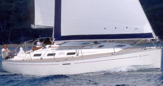 Location bateau Port de Lefkada pas cher Dufour 385