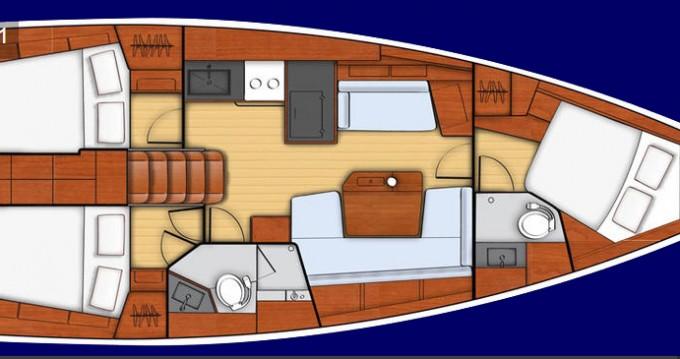 Location yacht à Port de Lefkada - Bénéteau Oceanis 41.1 sur SamBoat