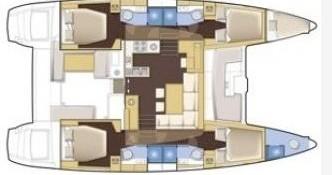 Location Catamaran à Marmaris - Lagoon Lagoon 450 F