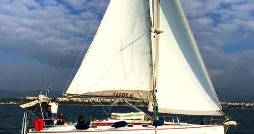 """Location bateau  Van de Stadt 42 Clipper """"FAFOS"""" à Palioúri sur Samboat"""