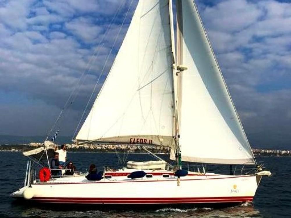 "Location bateau Neos Marmaras pas cher Van de Stadt 42 Clipper ""FAFOS"""