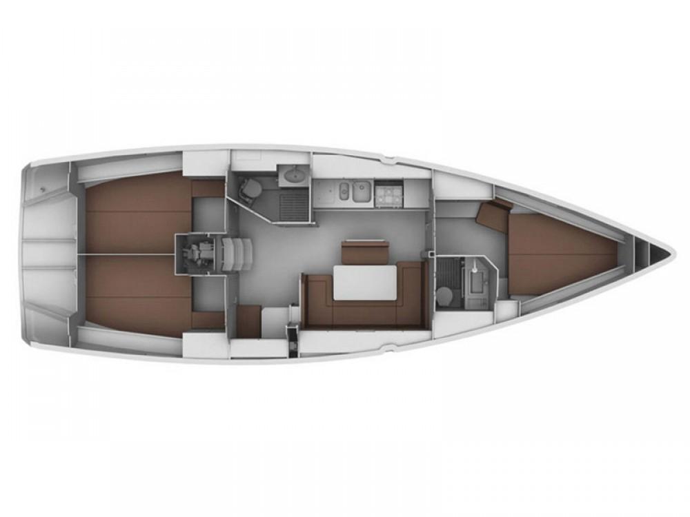 Location bateau Bavaria Bavaria 40 Cruiser à  sur Samboat