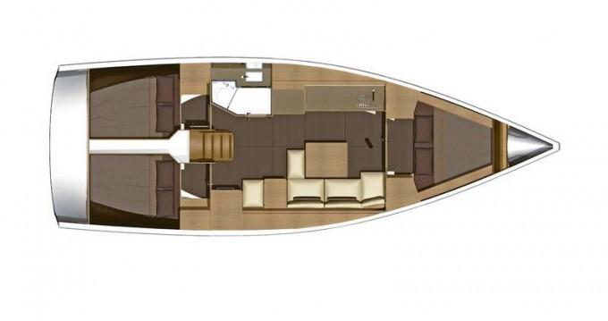 Location yacht à Lemmer - Dufour Dufour 382 GL sur SamBoat