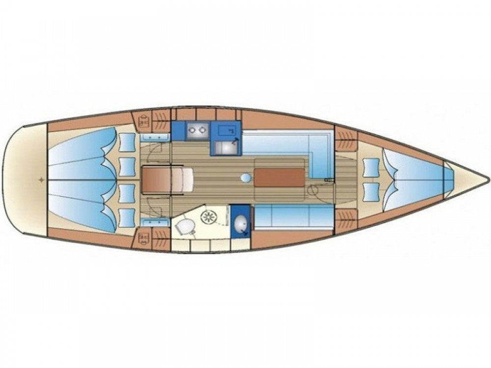 Louez un Bavaria Bavaria 34 Cruiser à