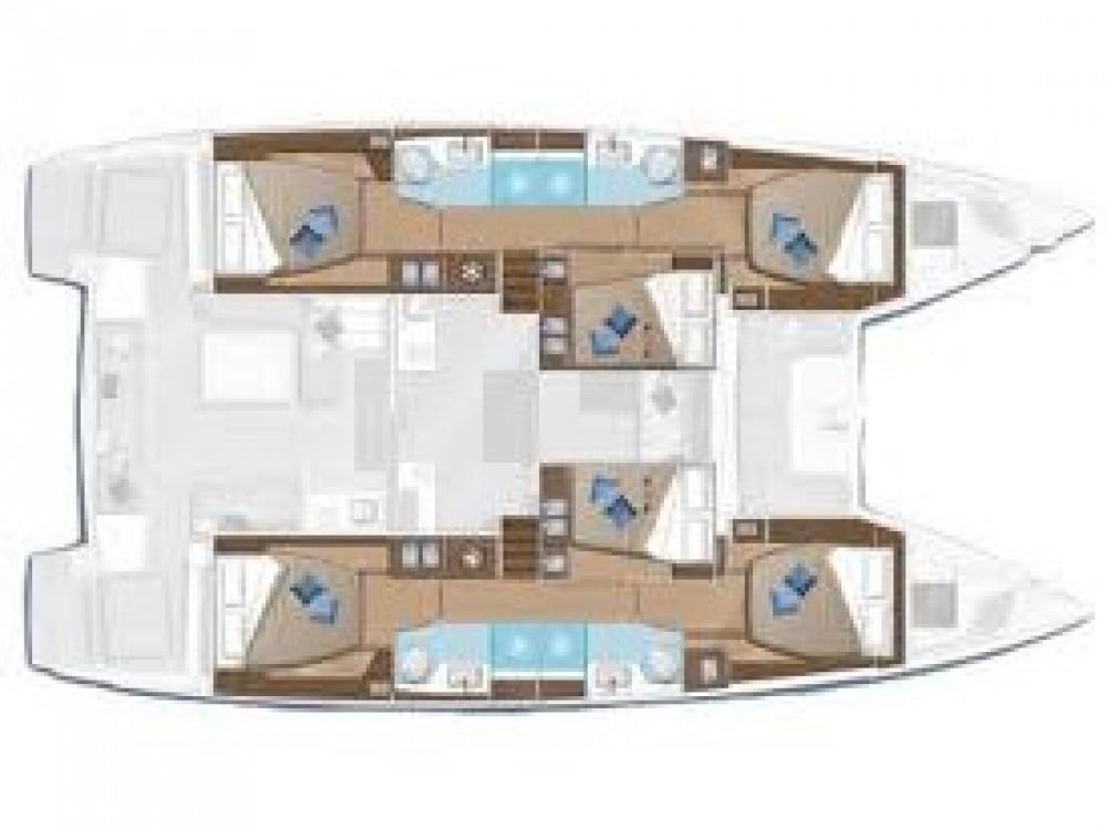 Location yacht à Le Marin - Lagoon Lagoon 50 sur SamBoat