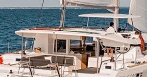 Location bateau Lagoon Lagoon 450 Sport Top à Le Marin sur Samboat