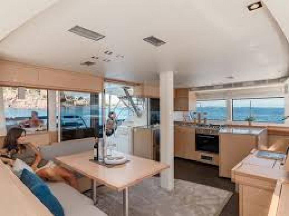 Location yacht à Le Marin - Fountaine Pajot Saba 50 sur SamBoat