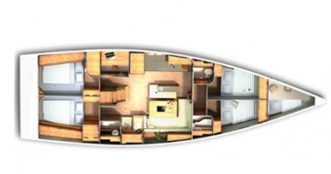Location yacht à Ibiza (Ville) - Hanse Hanse 505 sur SamBoat
