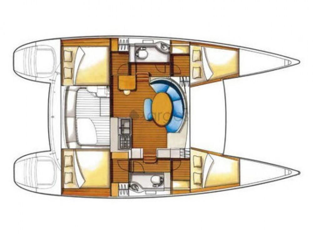 Location bateau Sibenik pas cher Lagoon 380 S2 Premium