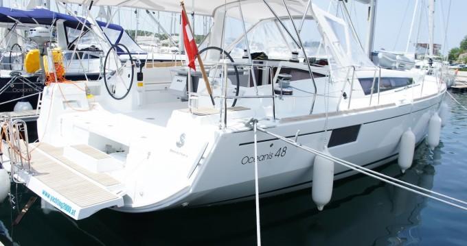Location bateau Sibenik pas cher Oceanis 48 LR