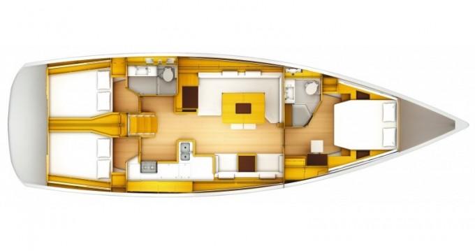 Location Voilier à Sibenik - Jeanneau Sun Odyssey 509