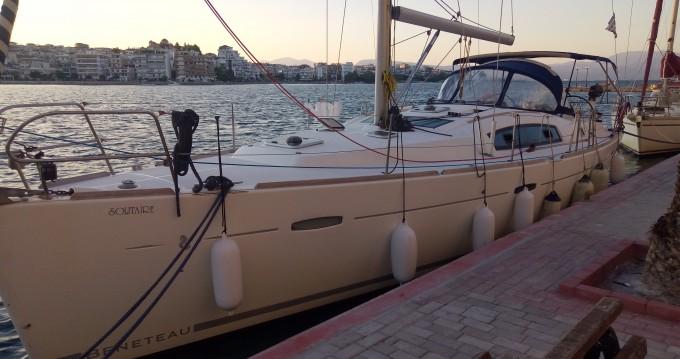 Bénéteau Oceanis 43 entre particuliers et professionnel à Akhíllio