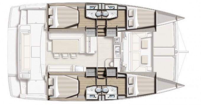 Location bateau Salerno pas cher Bali 4.1