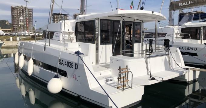 Location bateau Bali Catamarans Bali 4.1 à Salerno sur Samboat