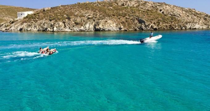 Location Catamaran à Santorini Port - Lagoon Lagoon 450