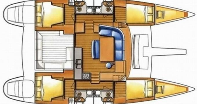 Location bateau Mykonos (Île) pas cher Lagoon 400