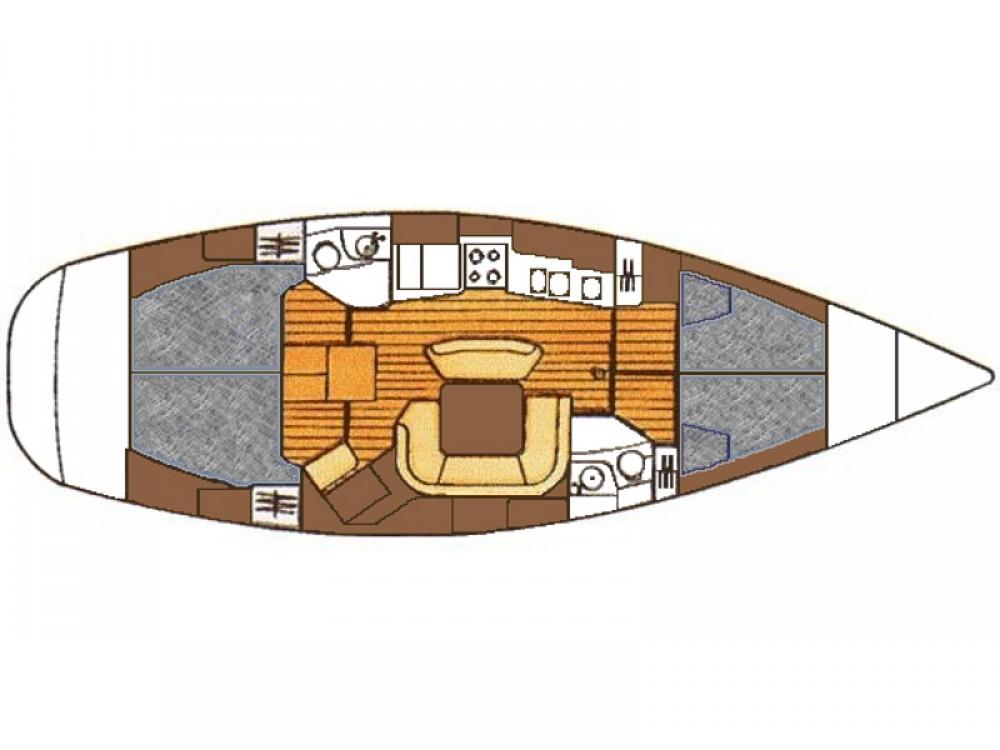 Location bateau Vodice pas cher Sun Odyssey 45.2