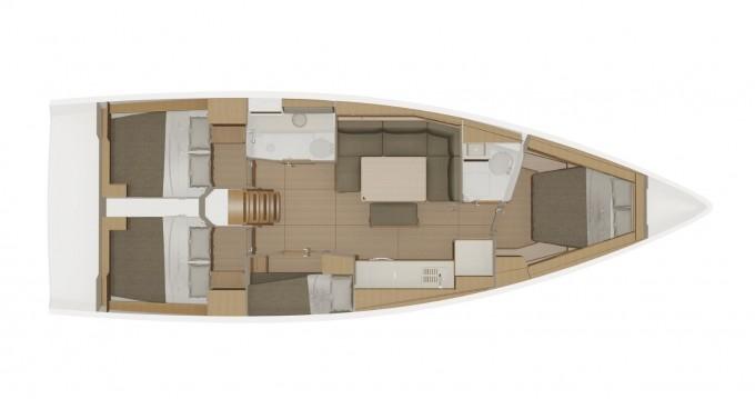 Location yacht à Marina di Portisco - Dufour Dufour 430 Grand Large sur SamBoat