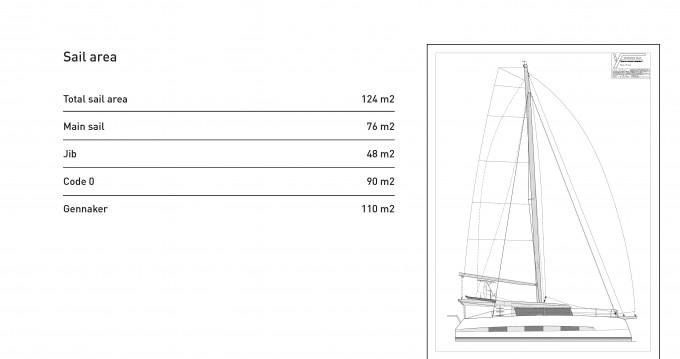 Location bateau Porto Rotondo pas cher Dufour Catamarans 48