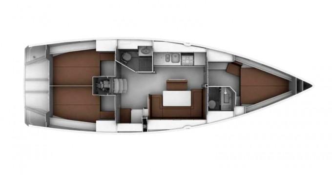 Bavaria Cruiser 40 entre particuliers et professionnel à Lefkada (Île)