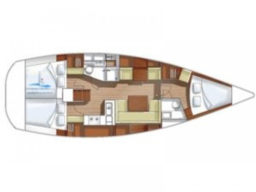 Location bateau Montenero di Bisaccia pas cher Hanse 400e
