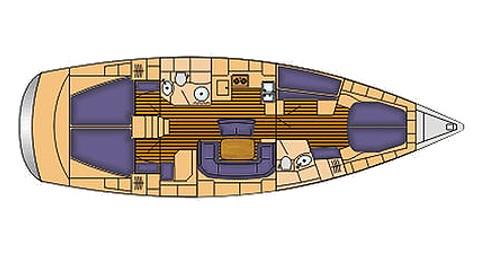 Location Voilier à Palma de Majorque - Bavaria Bavaria 46 Cruiser